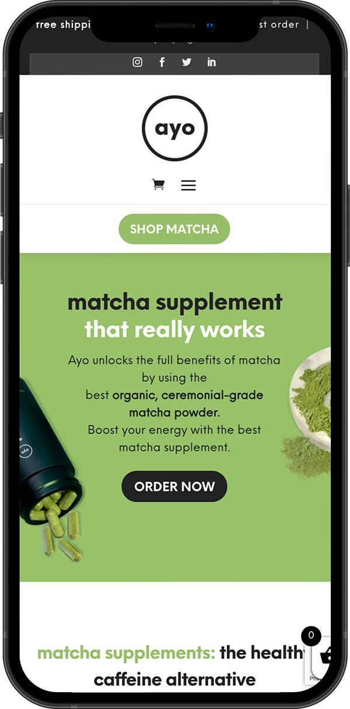 Austin Wordpress Services Matcha